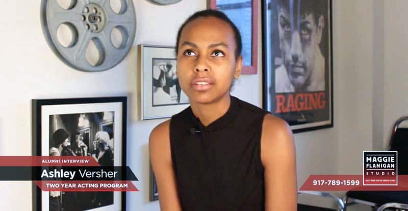 Two Year Acting Program - Ashley Versher Interview - 917-789-1599