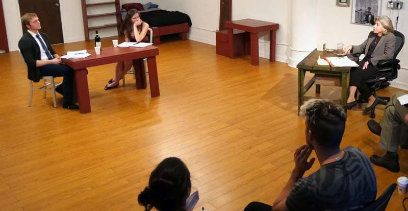 Acting Master Class with Maggie Flanigan