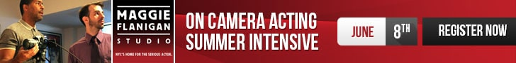ON CAMERA ACTING class banner