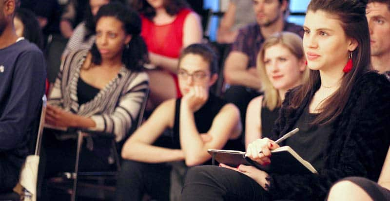 students in the two-year acting programs at the Maggie Flanigan Studio