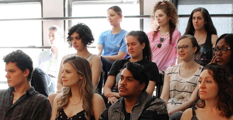 Students in Class at Acting School New York NY - Maggie Flanigan Studio