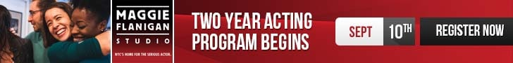 Banner 2 Year Acting Program Begins at the Maggie Flanigan Studio