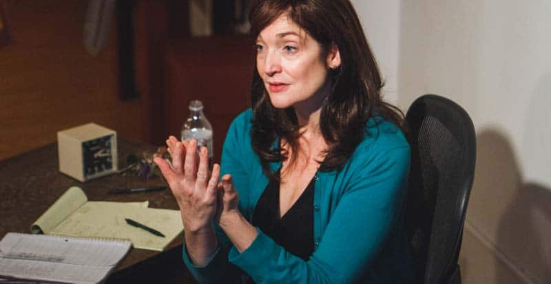 karen chamberlain in acting class teaching students - acting teacher new york ny
