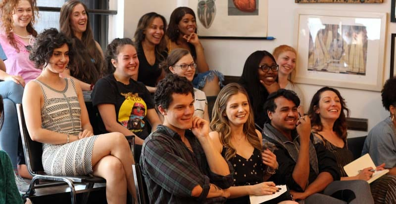 actors in class at the top drama schools in new york