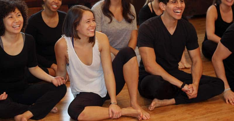 students in the professional actor training program (PATP) at Maggie Flanigan Studio