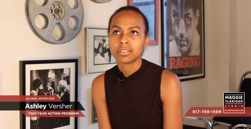 Two Year Acting Program | Ashley Versher Interview | 917-789-1599