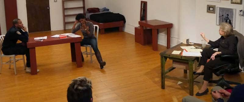 Acting Master Class with Maggie Flanigan - Character Acting 03
